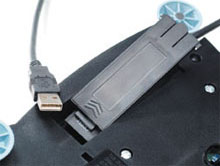 Plug in the USB adapter