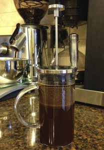 Cold brew with a French Press